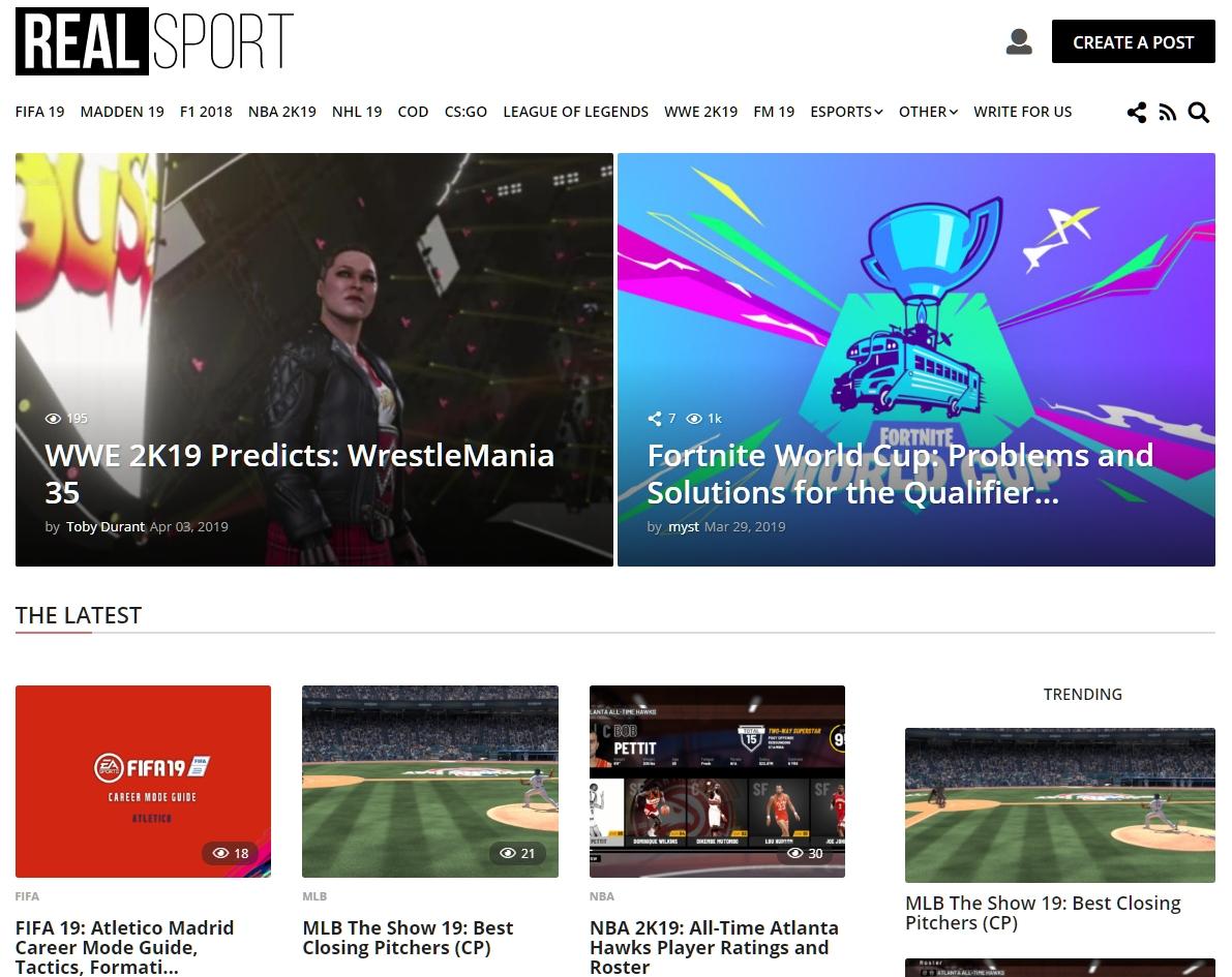 RealSport101.com