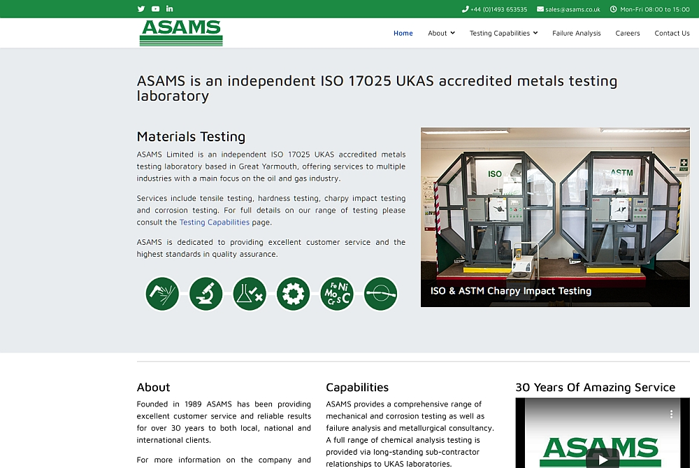 asams.co.uk